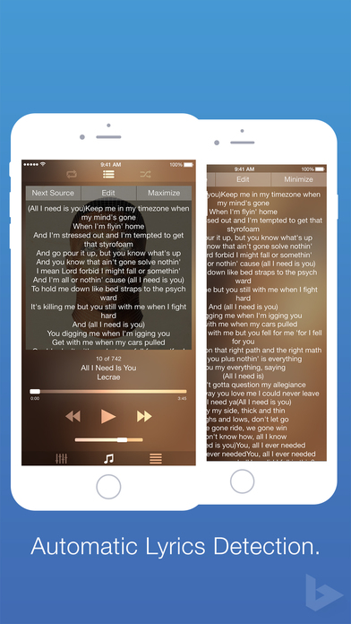 Blend Music Player IPA Cracked for iOS Free Download