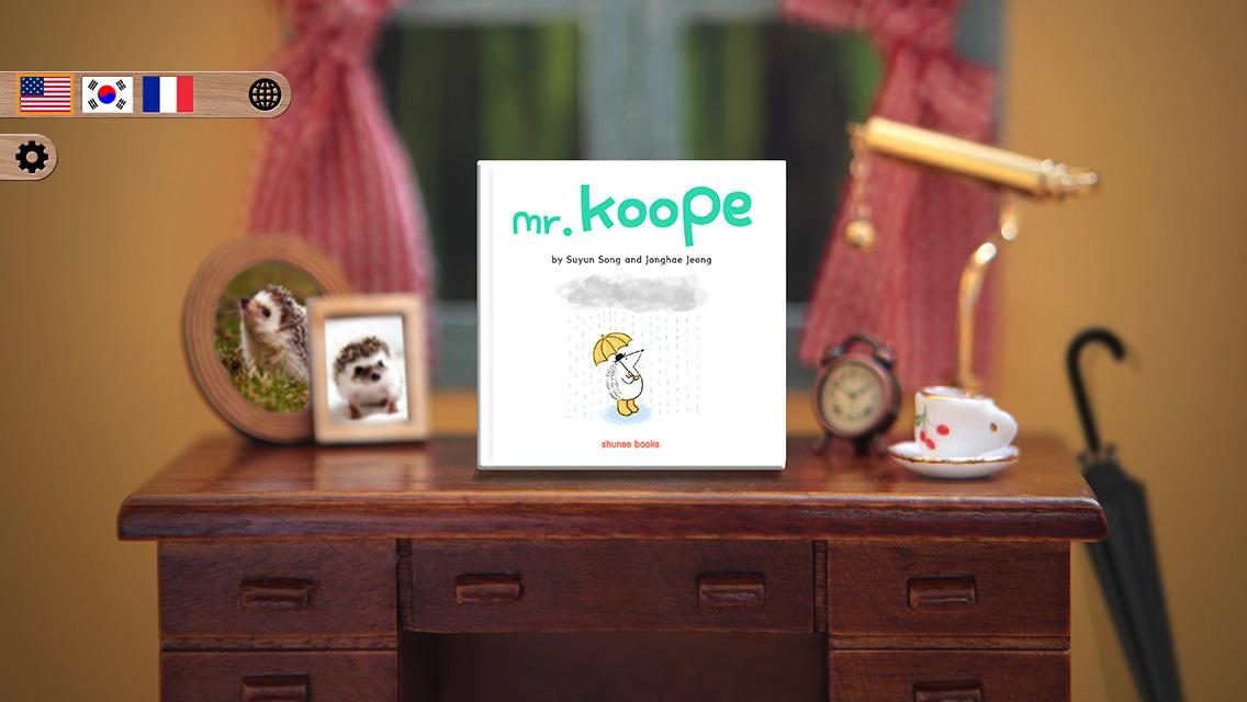 Mr. Koope the hedgehog - Children's story book