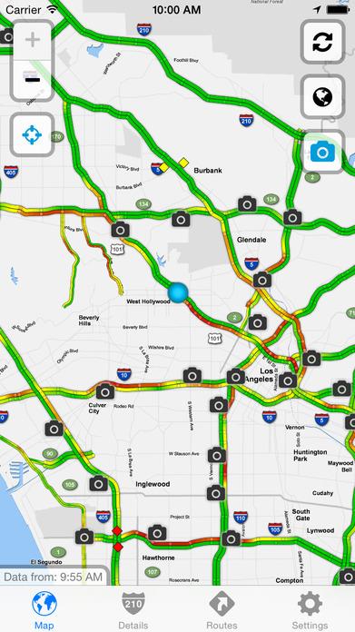 Sigalert.com - Live traffic reports Screenshot