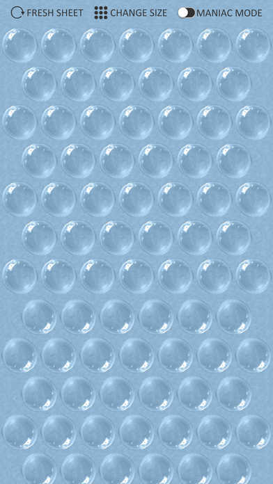 Bubble Wrap Screenshot on iOS