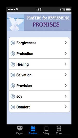 Prayer For Refreshing Screenshots