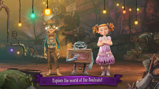 The Boxtrolls: Slide 'N' Sneak Screenshot