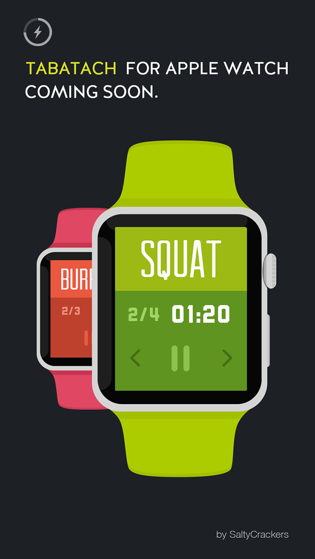 tabatach interval workout timer for high intensity interval