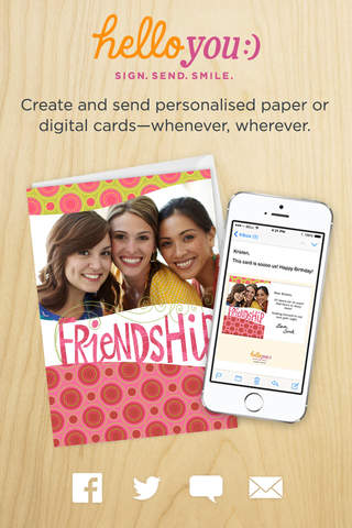 Hello You By Hallmark Send Greeting And Birthday Cards Or Ecards For Facebook App
