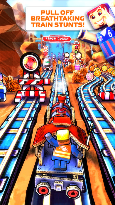 Paper Train: Rush Screenshot