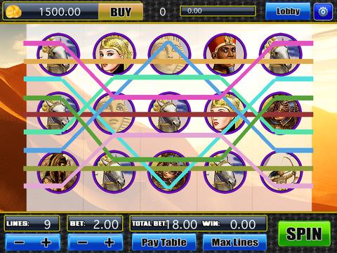 App slot machine tilt