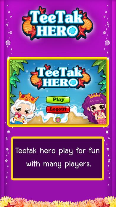 TeeTak Hero Screenshot on iOS
