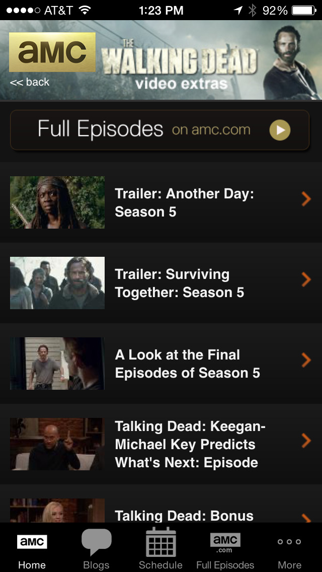 AMC Mobile screenshot-0