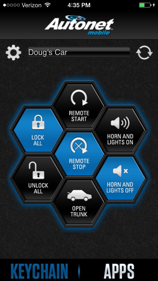 app shopper autonet mobile carkey application navigation. Black Bedroom Furniture Sets. Home Design Ideas
