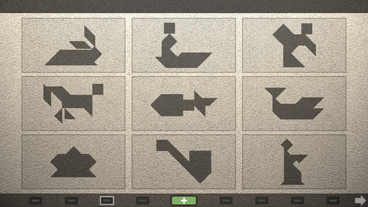 TanZen - Relaxing tangram puzzles Screenshot