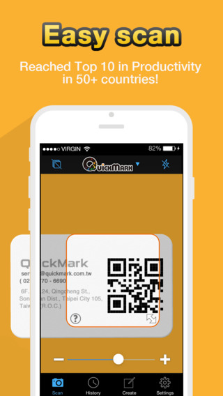QR Code Reader - QuickMark Barcode Scanner on the App Store