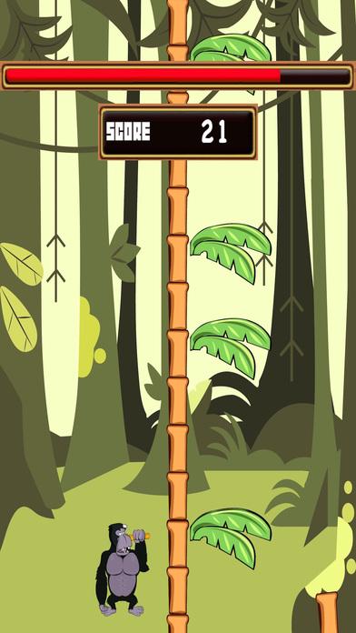 Tree Chopper King Kong - Banana Monkey Wood Cutter FREE Screenshot on iOS