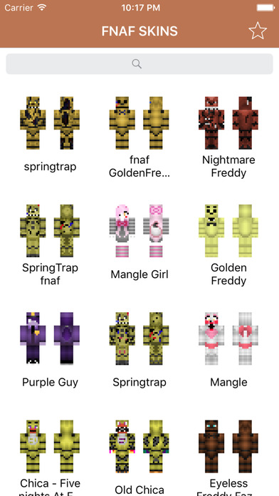 By Photo Congress || Skins Minecraft Pe Fnaf