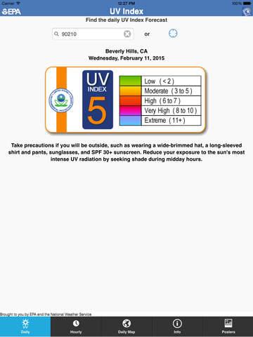 EPA's SunWise UV Index - appPicker