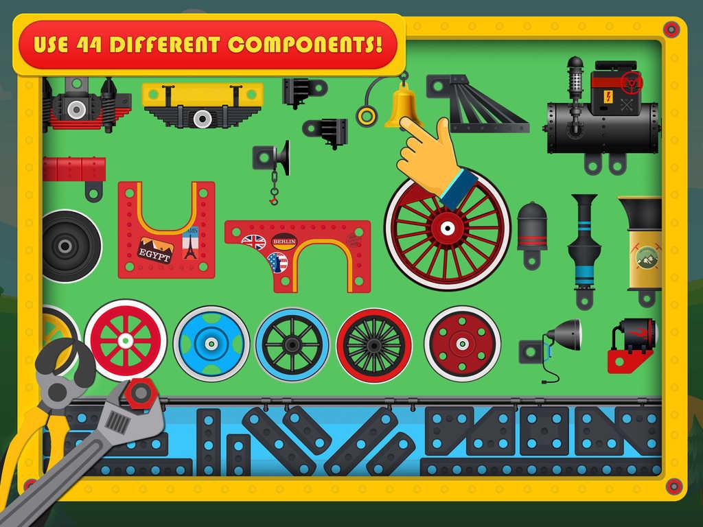 Train Simulator & Maker Games: Fun Free Game for Kids Boys ...