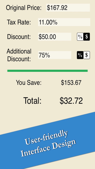 sale price calculator easy quick compute discount and tax