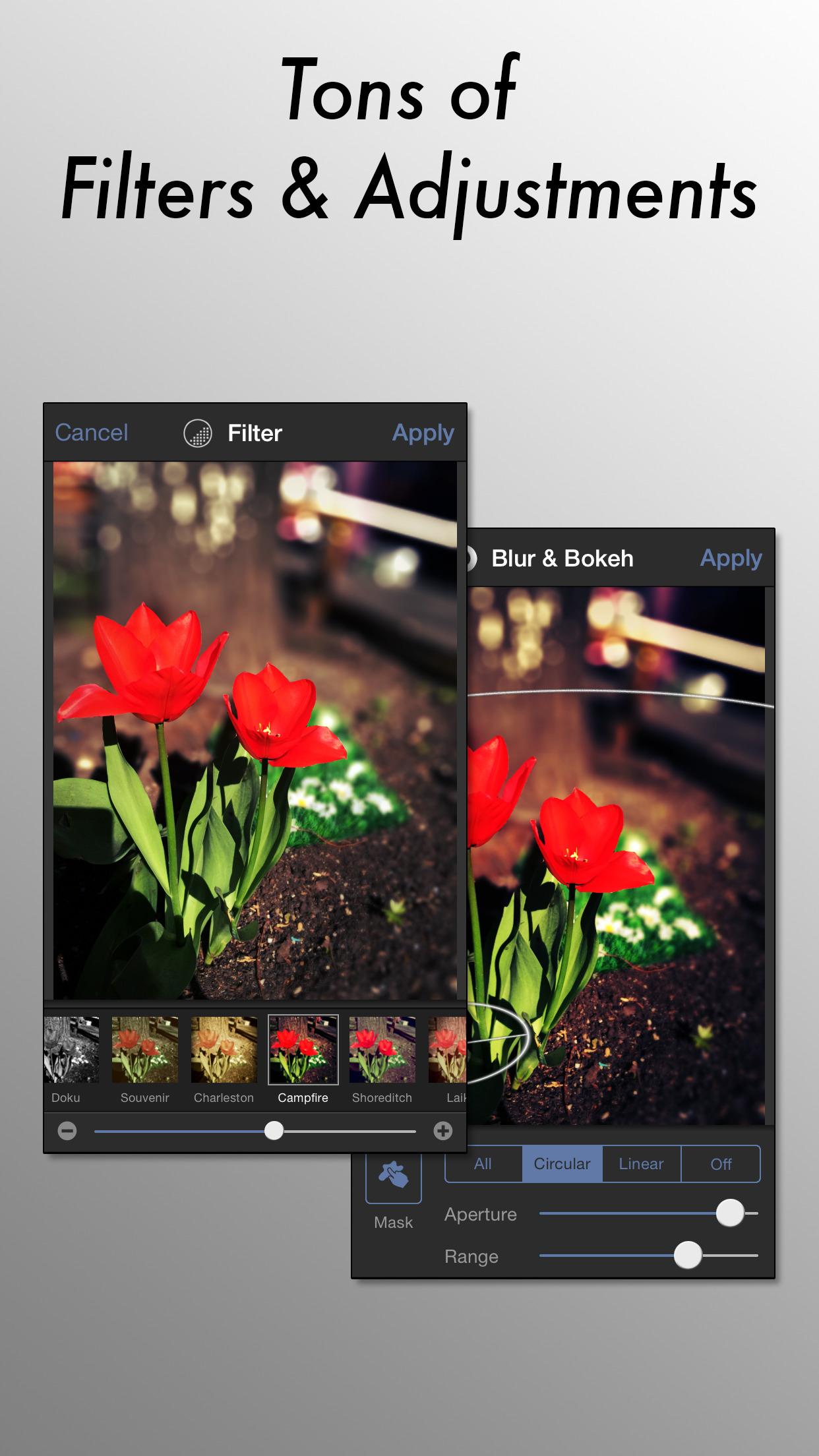 Tadaa SLR Screenshot