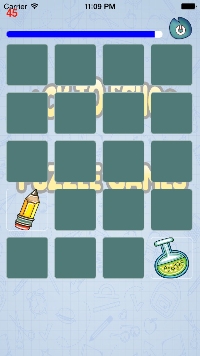 A Aaron Back to School Puzzle Game Screenshot on iOS