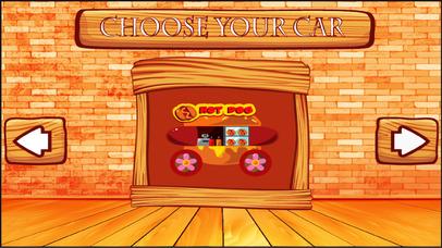 Food Trucks Driving Game Screenshot on iOS