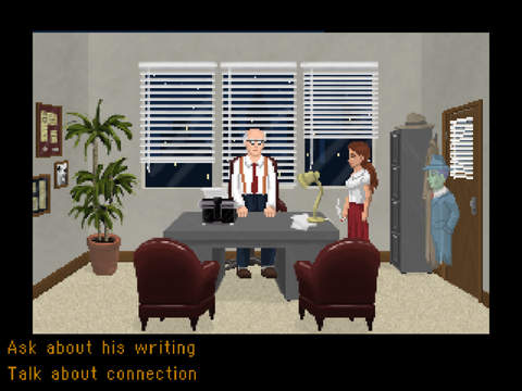 Blackwell 2: Unbound Screenshot