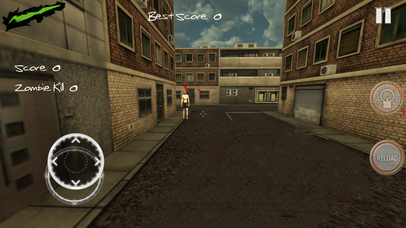 Zombie Evil City : Lone Battle Screenshot on iOS
