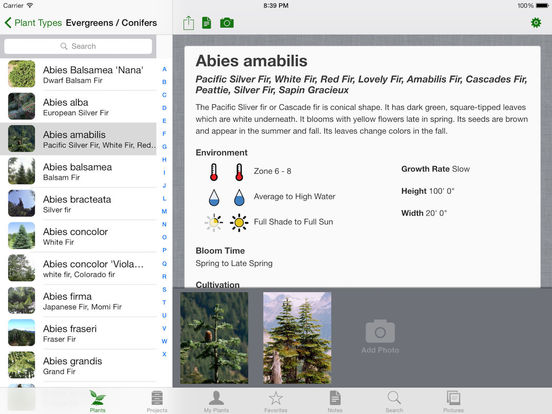 Landscaper's Companion for iPad Screenshots