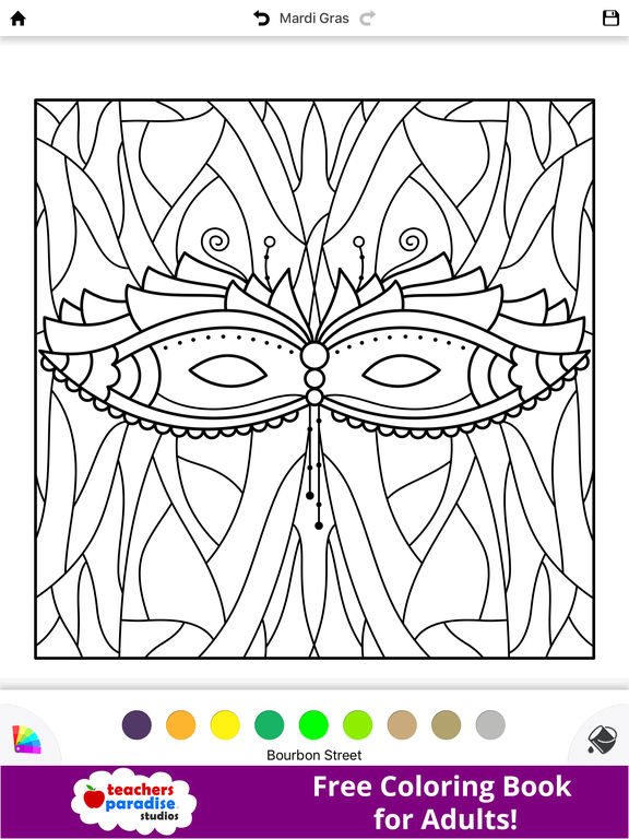 fat tuesday coloring pages - photo #26