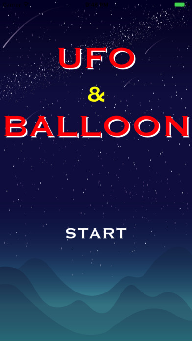 UFO AND BALLOON Screenshot on iOS