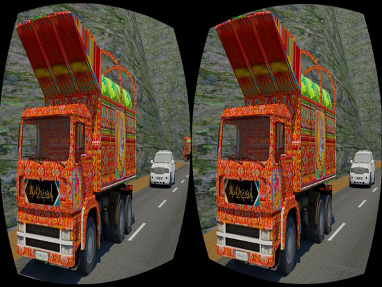 App Shopper: VR Mountain Highway Cargo Truck Driving Simulator (Games)