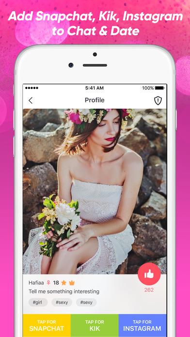 flirt and hook up app