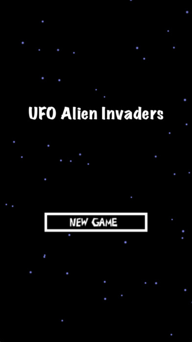 UFO Alien Invaders Clear Screenshot on iOS
