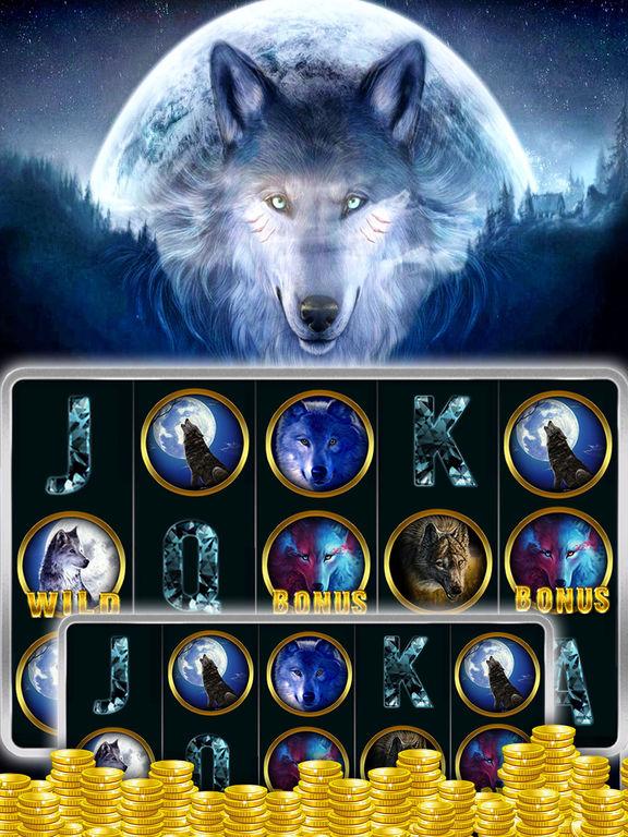 Free casino slot games wolf run