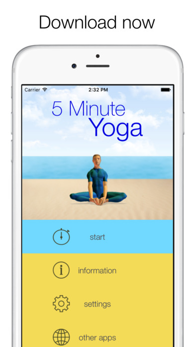 5 Minute Yoga - quick workouts for flexibility Screenshot