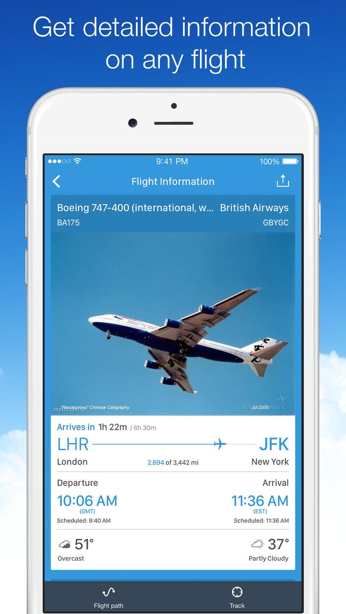 Planes Live - Flight Status Tracker & Radar Screenshot