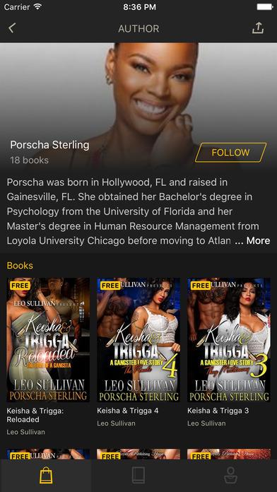 LiT eBook Reader Screenshot