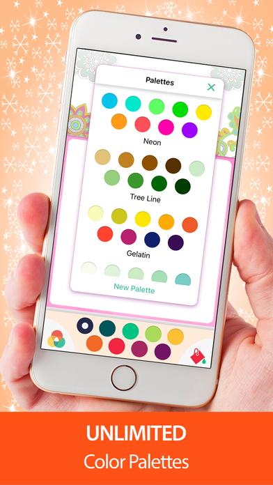 Adult Coloring Book Mandala Pigment Color Pages