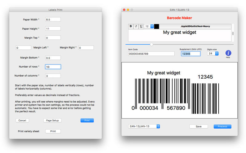 Barcode Maker Screenshot