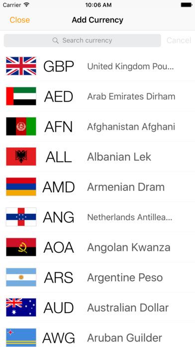 Currency Converter Money Free Screenshot