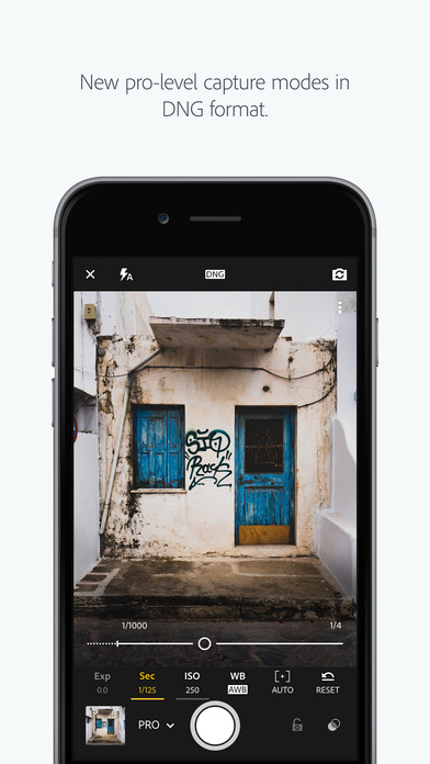 Adobe Photoshop Lightroom for iPhone Screenshot
