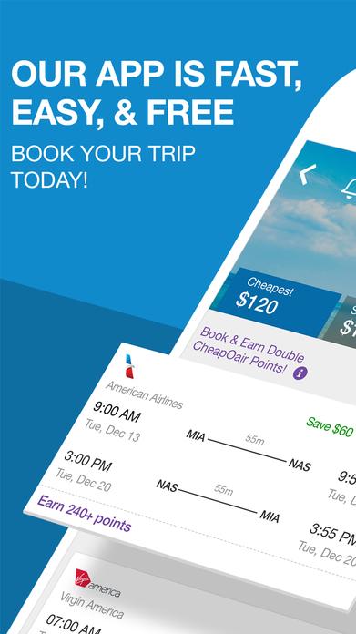 CheapOair Booking App: Cheap Flights, Hotels & Car Screenshot