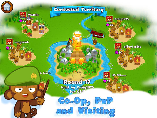 #4. Bloons Monkey City (iOS)
