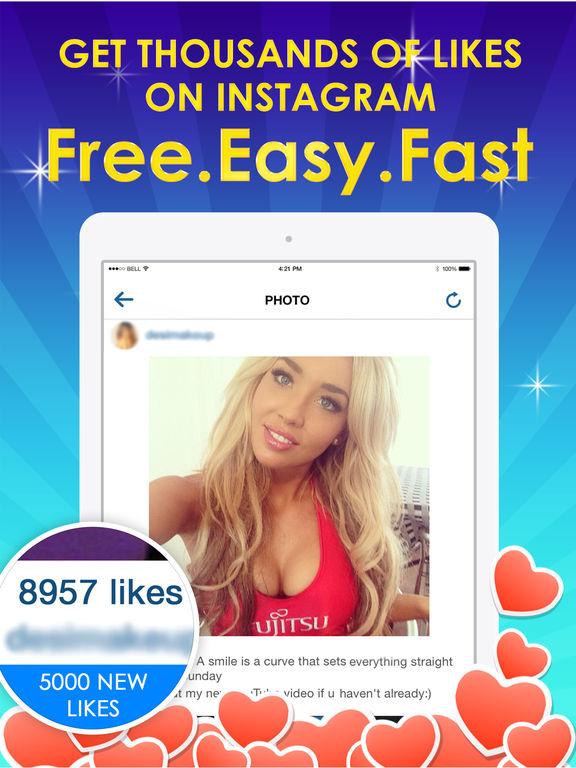 5000 Instagram Likes Free - Get Followers & Views - AppRecs