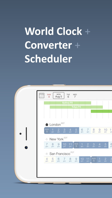Time Buddy - Visual World Clock & Time Converter Screenshot