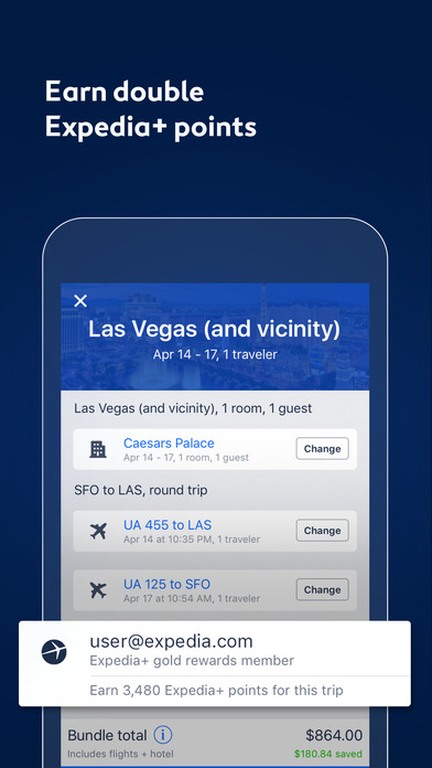 Expedia Hotels, Flights & Vacation Package Deals App ...