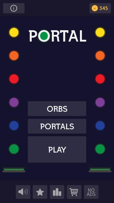 Portal Rush Ball Screenshot on iOS