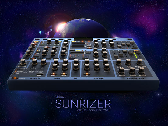 Sunrizer synth Screenshot
