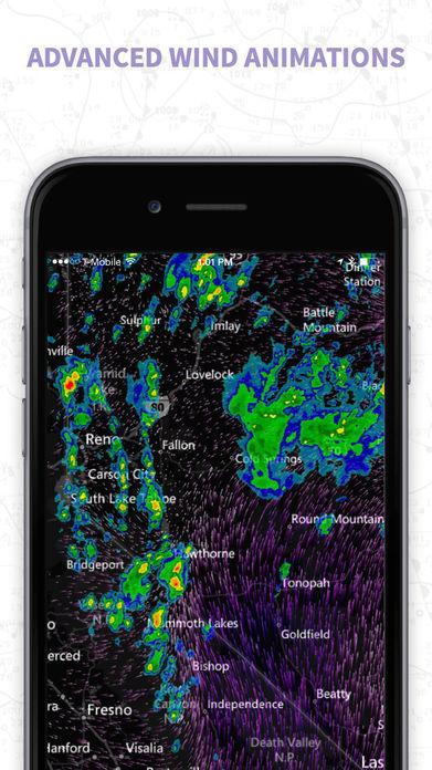 MyRadar NOAA Weather Radar, Forecasts & Storms Screenshot