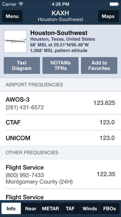ForeFlight Mobile EFB Screenshot