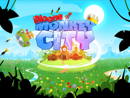 #5. Bloons Monkey City (iOS)
