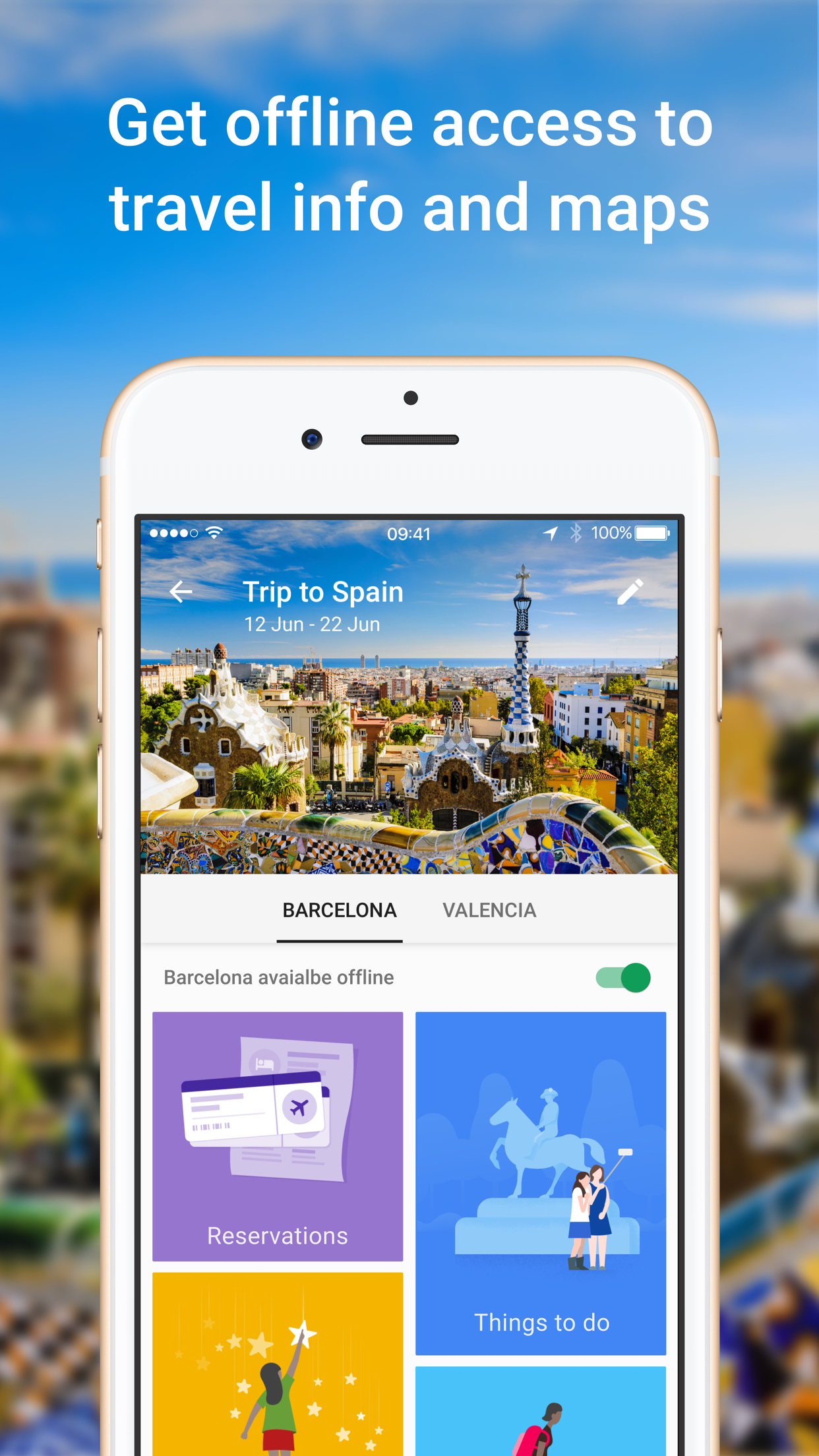 Google Trips – Travel planner Screenshot